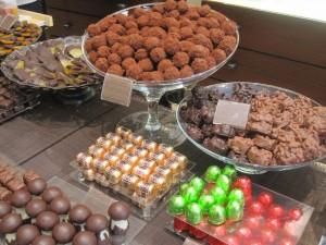 A incredible array of chocolates!