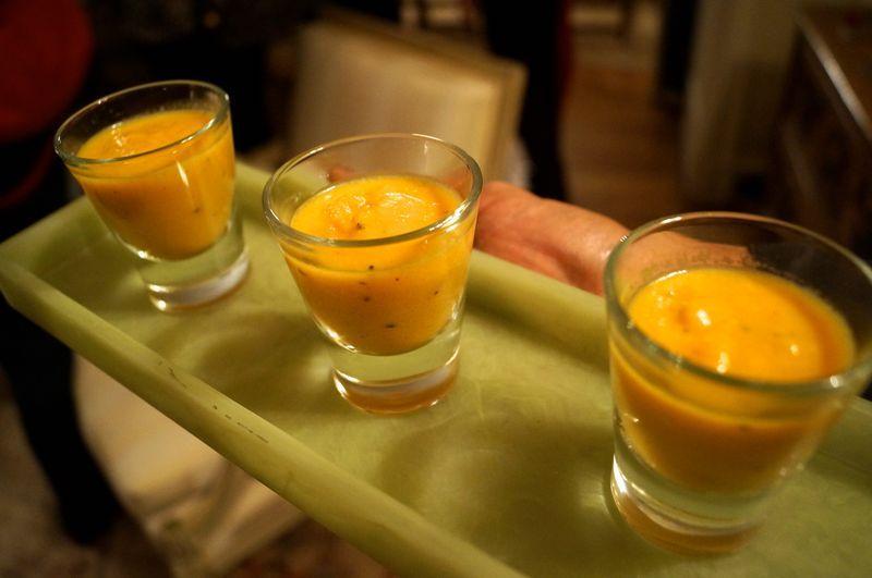 Carrot, Apple, Ginger Soup