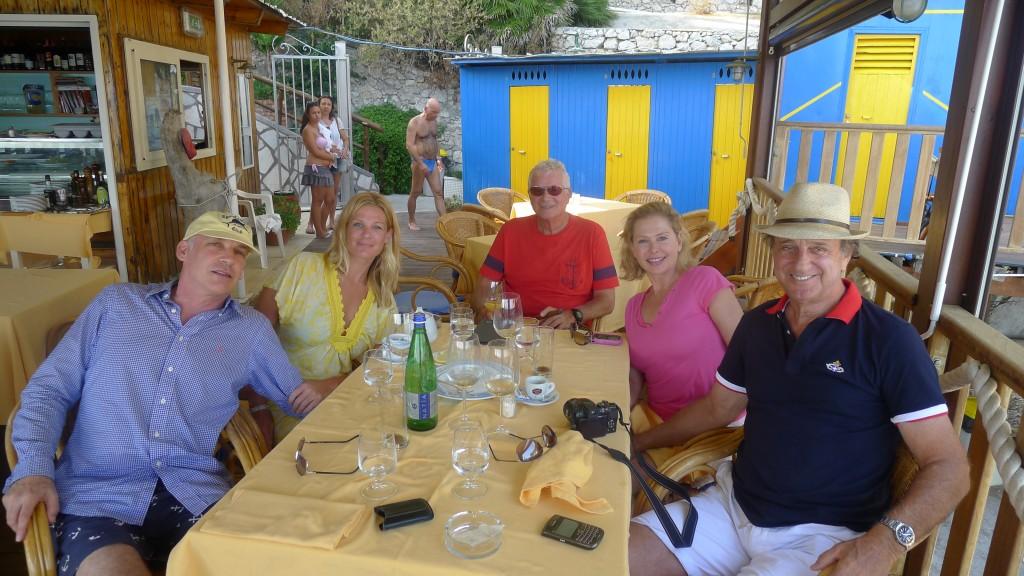 Life is good in Capri