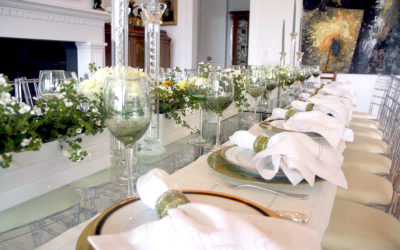 WHITE PARTY TABLE SETTING (VIDEO TUTORIAL)