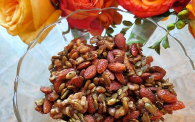 LAST MINUTE EASY HOLIDAY RECIPE: SWEET and SPICY NUTS