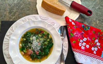 Hearty Chicken Sausage and White Bean Soup