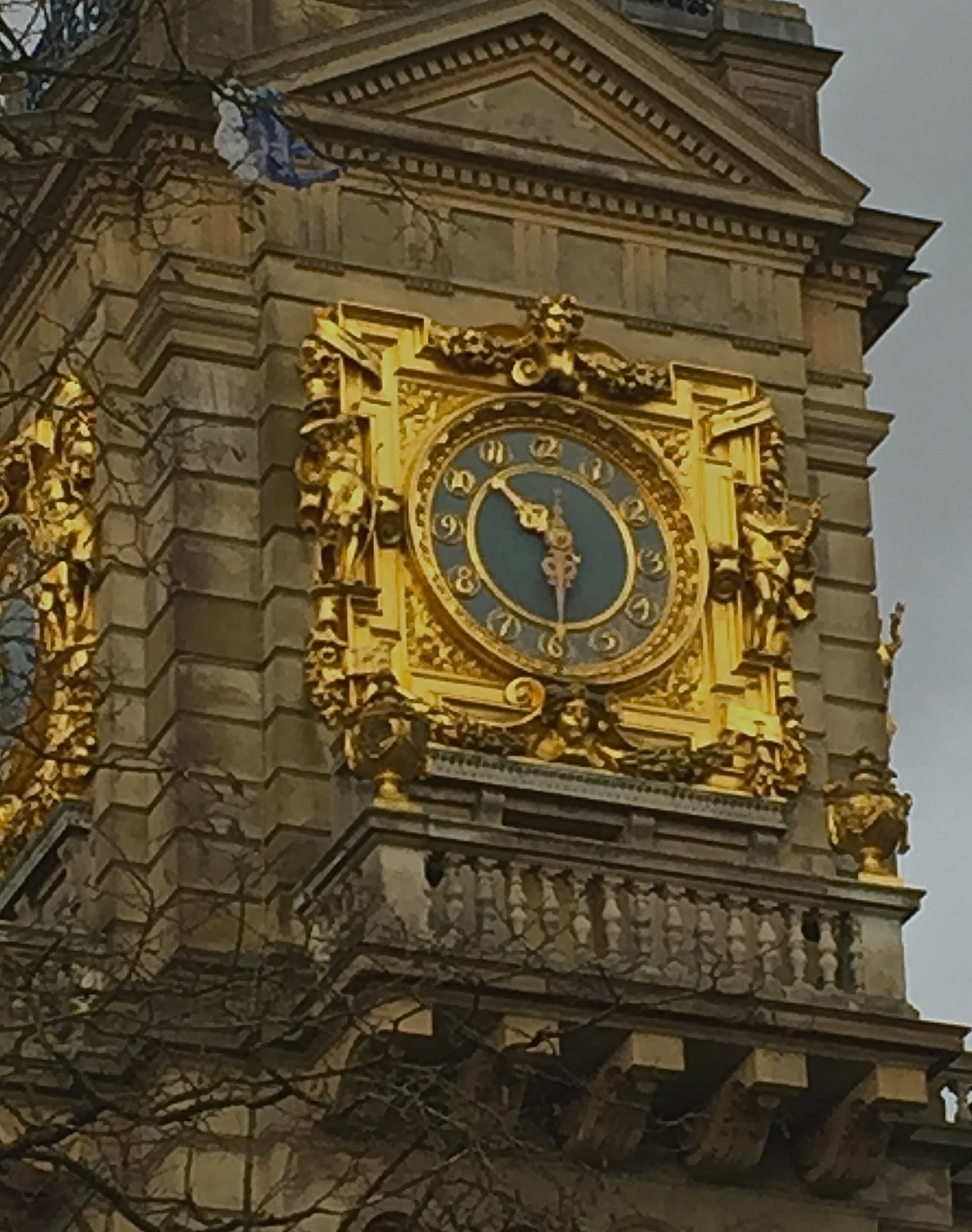 Clock at Cliveden House