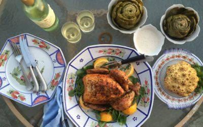 Simple Spring Dinner