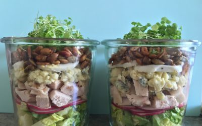 MIX IT UP, SALAD IN A JAR!!!