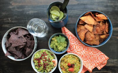 THE BEST GUACAMOLE MADE 3 WAYS