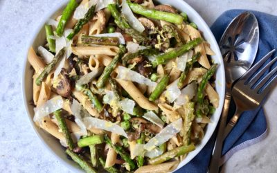 The Perfect Healthy Spring Pasta Primavera!
