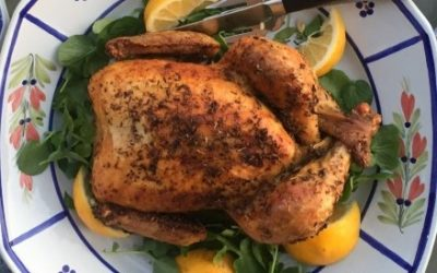 FLAVORS FAVORITE ROAST CHICKEN with GOAT CHEESE and HERBS