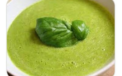 DR. DARYL'S ULTIMATE CHILLED RAW GREEN SOUP