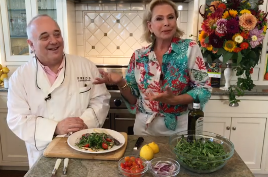 Chicken Paillard and Chefs_Pamela Morgan_Flirting with Flavors