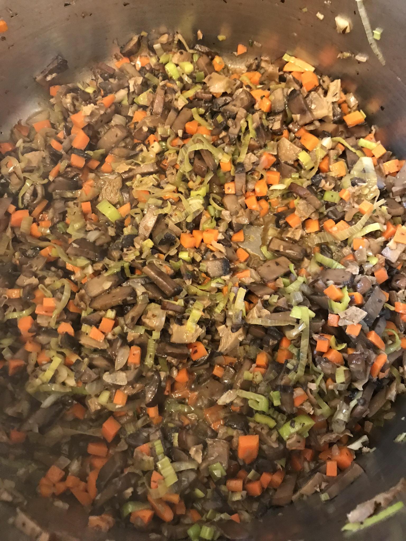 Mushroom Soup Makeover_stirring the veg_Pamela Morgan_Flirting with Flavors