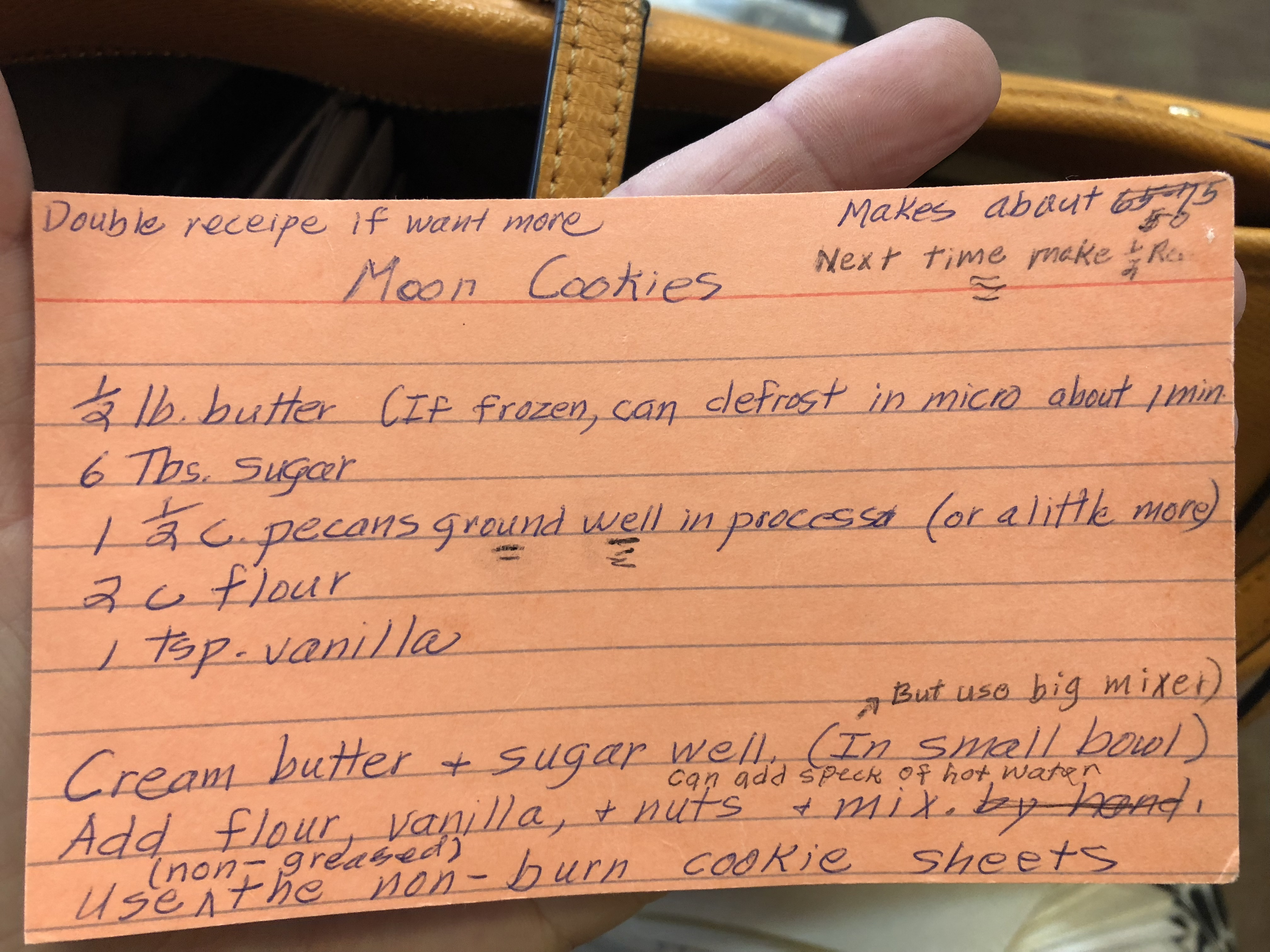 Hungarian Crescent Moon Cookies Recipe Card_Flirting with Flavors_Pamela Morgan