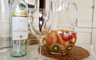 FLIRTING WITH FLAVORS WHITE WINE SANGRIA