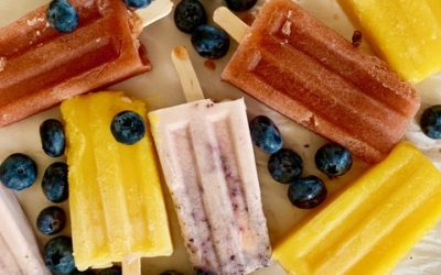 COOL OFF THIS SUMMER with THREE EASY HOMEMADE POPSICLE RECIPES