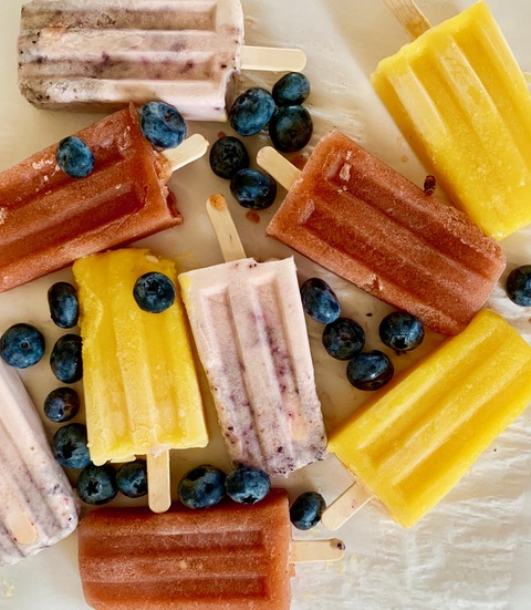 Three Easy Homemade Popsicle Recipes