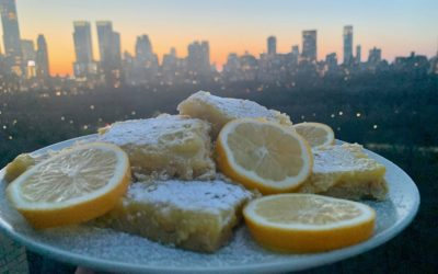 CELEBRATE CITRUS SEASON with these DREAMY MEYER LEMON and GINGER BARS