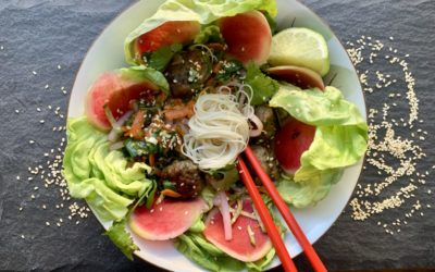 THIS VIETNAMESE-INSPIRED NOODLE BOWL WILL BE YOUR NEW FAVORITE LUNCH