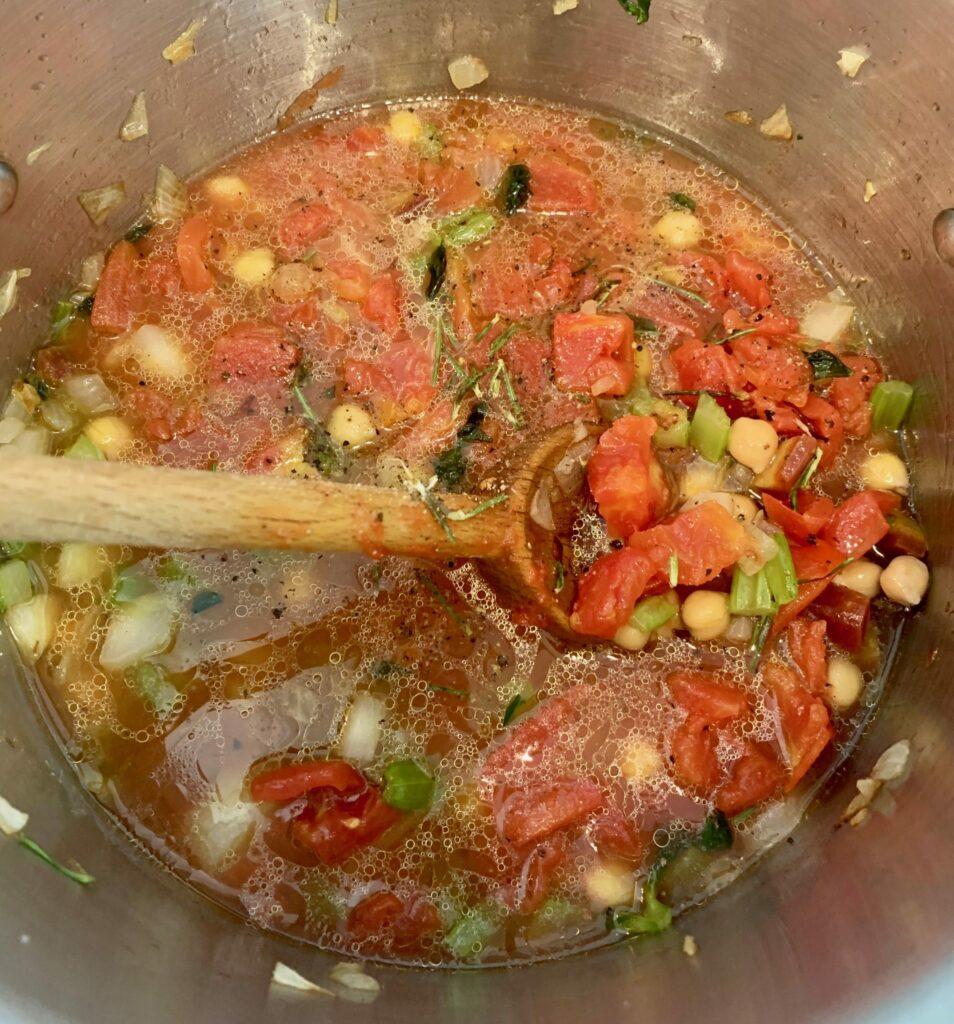 Pamela Morgan Chickpea and Farro Stew