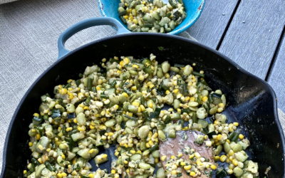 You'll Love This Sweet Corn Dish For Your Summer Picnic Table