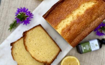 Very Lemony Pound Cake