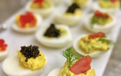 Indulge Yourself With My Deviled Eggs and Caviar, Two Ways