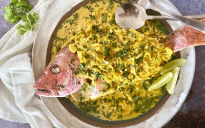 Coconut Curry Spiced Red Snapper