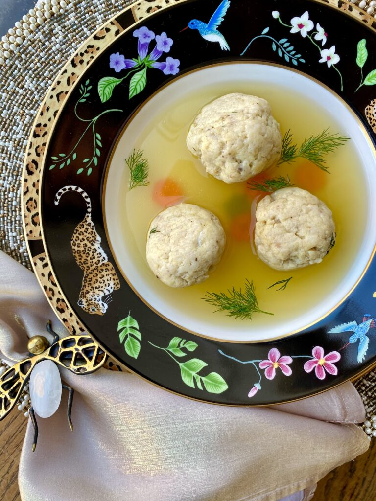 Matzo Ball Soup, Pamela Morgan