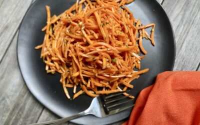 Easy Thai-Inspired Carrot Salad For Your Summer Menu