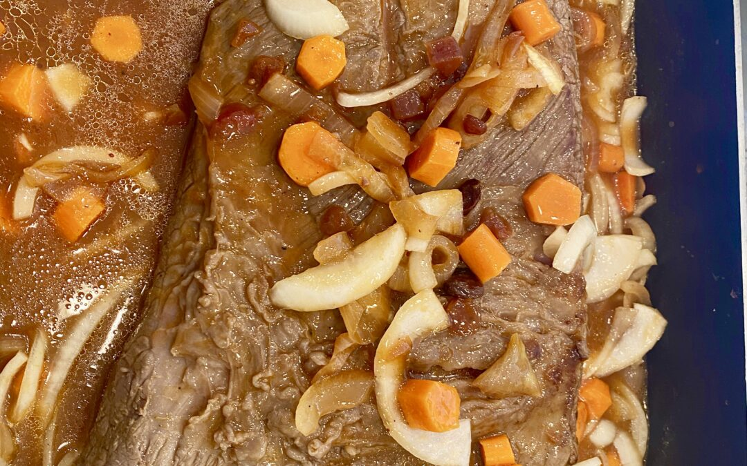 Learn My Secrets to the Best Sweet-and-Sour Brisket
